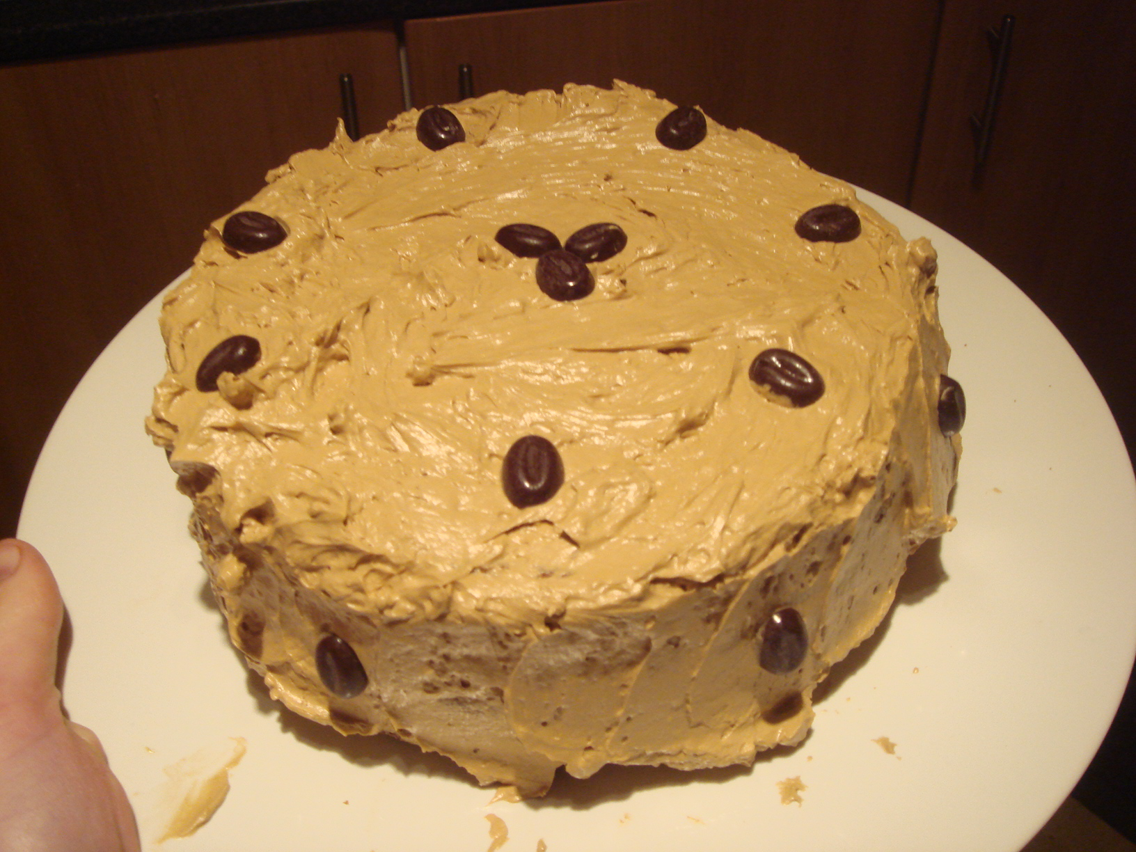 All In One Coffee Sponge Cake Made With Camp Coffee