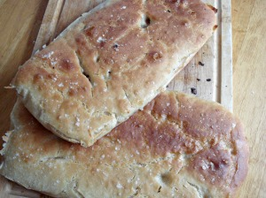 Paul Hollywood's focaccia