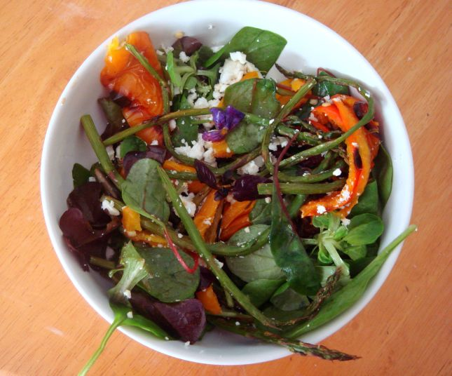 Vibrant, colourful salad, perfect for summer - recipe below!