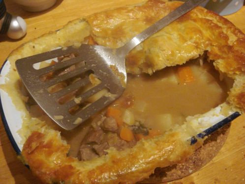 Irish stew pie