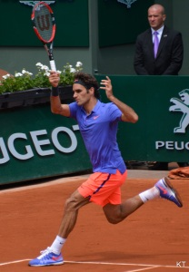 Who could blame a man-crush? - Roger Federer French Open 2015 by Carine06 from UK. Licensed under CC BY-SA 2.0 via Wikimedia Commons
