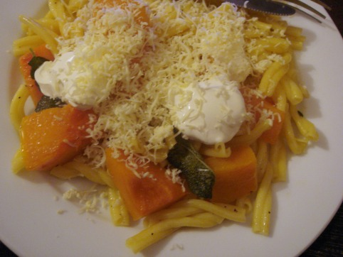 pasta with smoked cheese