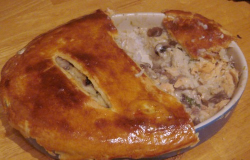 russian fish pie