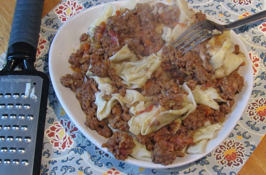 Six-hour bolognese