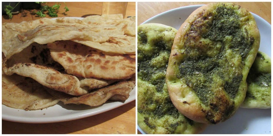Parathas and green flatbreads_sm