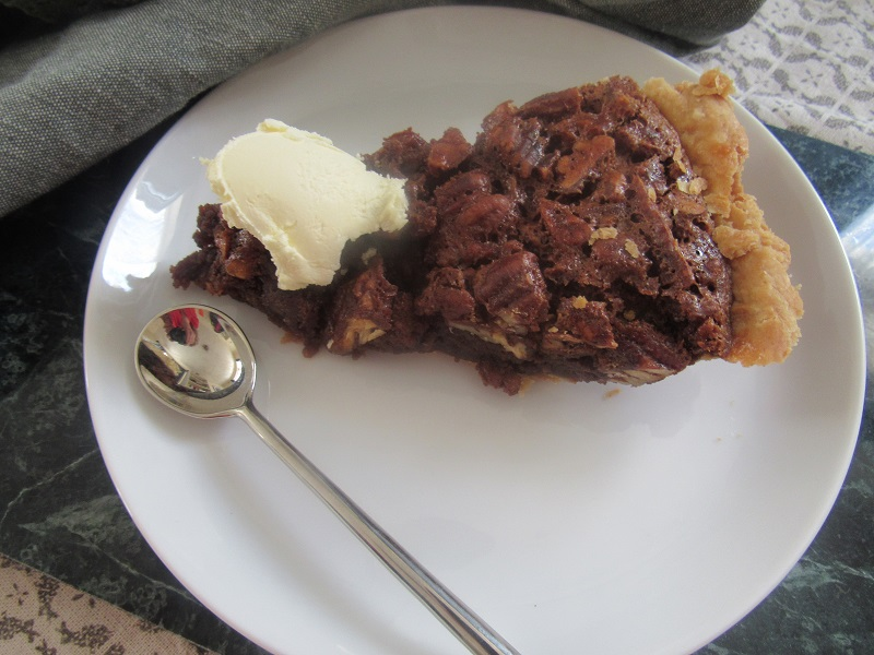 Four and Twenty Blackbirds pecan pie