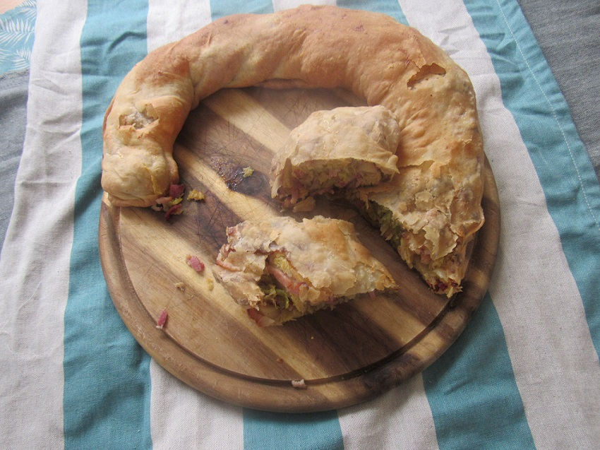 Baking challenge: krautstrudel
